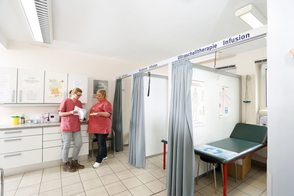 Diabetes-Zentrum Hemer - Pollok & Chmielewski - Behandlungsräume in der Praxis