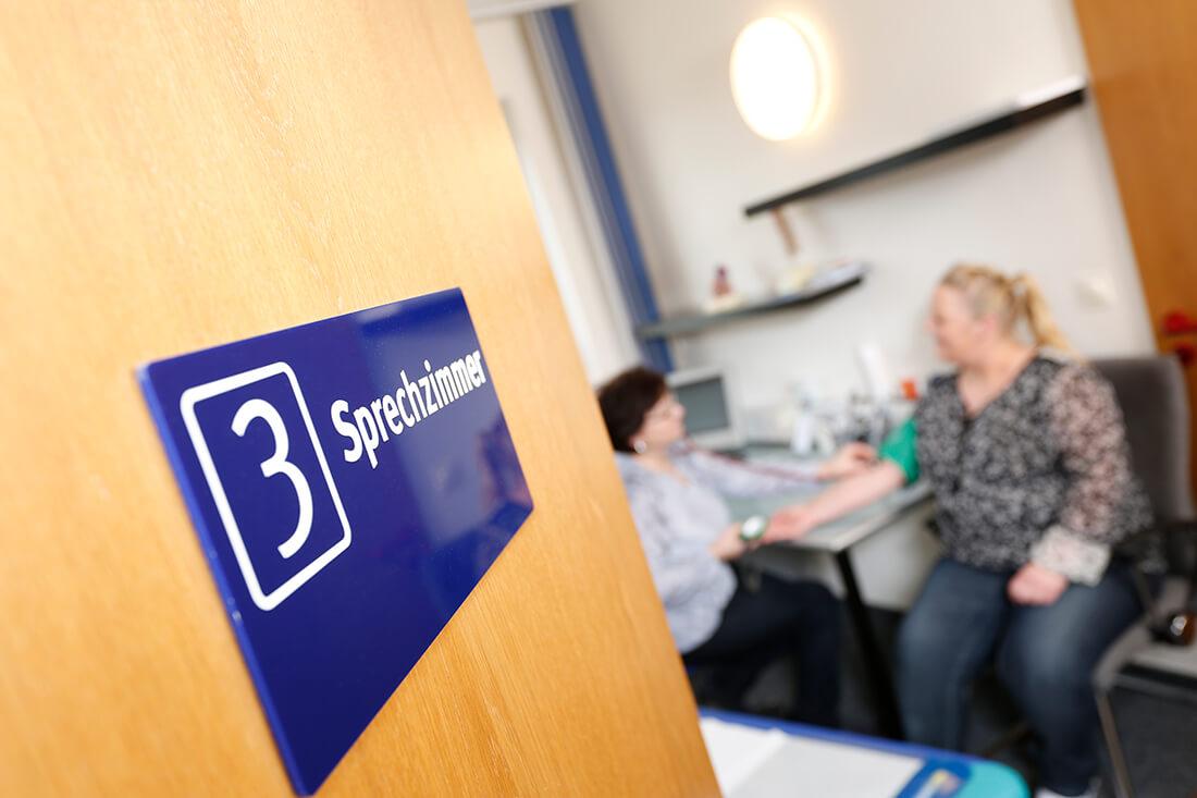 Diabetes-Zentrum Hemer - Pollok & Chmielewski - Sprechzimmer in der Praxis